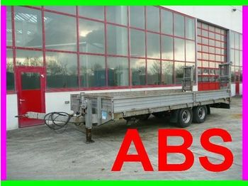 Obermaier Tandemtieflader 6,28 Ladefläche - low loader trailer