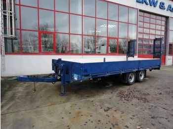 Obermaier Tandemtieflader, 6,30 m Ladefläche - low loader trailer