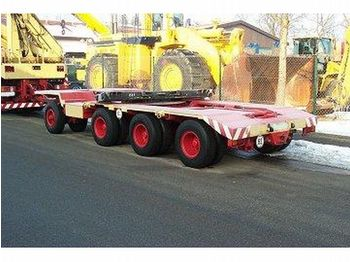Scheuerle L 3541 S - low loader trailer
