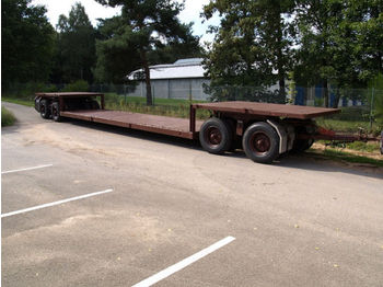 Scheuerle Tieflader  - low loader trailer