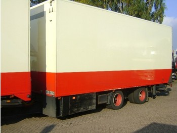 Burg BPA 18 m 2 as - refrigerator trailer