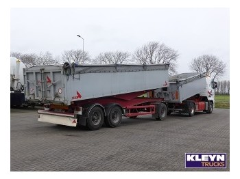 Stas ALU TIPPER COMBI WITH VOLVO - tipper trailer