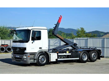 Hook lift truck Mercedes-Benz ACTROS 2541 Abrollkipper 6,40m *6x2* Top Zustand