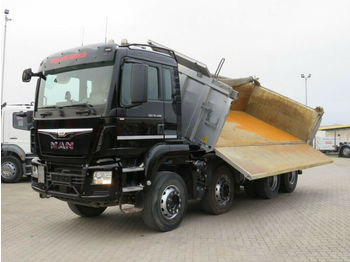 Tipper MAN TG-S 35.400 8x4 BB 4-Achs Kipper Meiller Bordmat